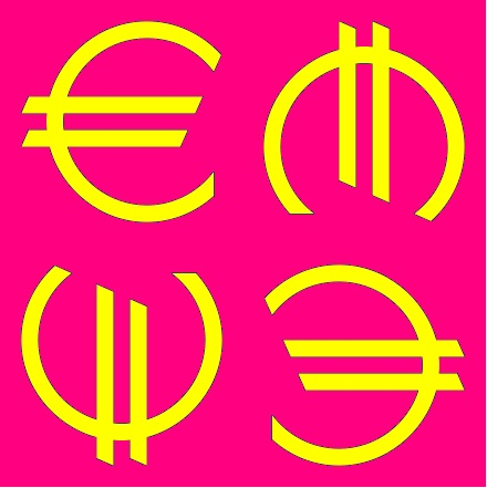 Tommorrow is bright. Tommorrow is pink. Tommorrow is euro.