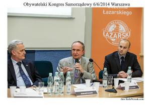 Obywatelski Kongres Samorządowy. Fot. Rafał Nowak.