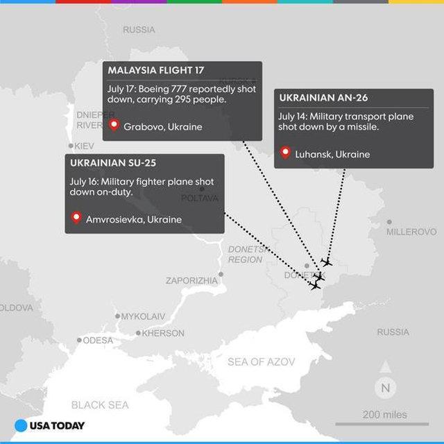mapa zestrzelen
