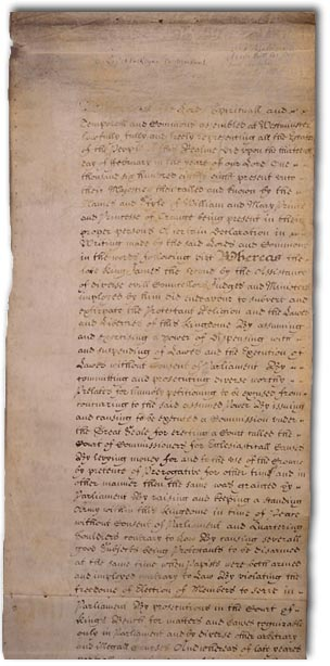 English Bill of Rights by Wiki