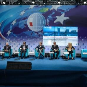 XXV Forum Ekonomiczne w Krynicy. Materiały organizatorów.