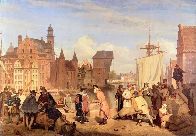Gdańsk w XVII wieku