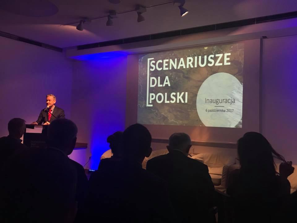 """Inauguracja """"Scenariuszy dla Polski"""", fot. M. Kobosko"""