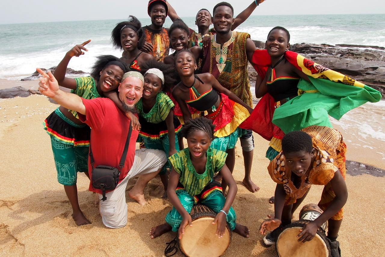 Ghana - życie na prowincji