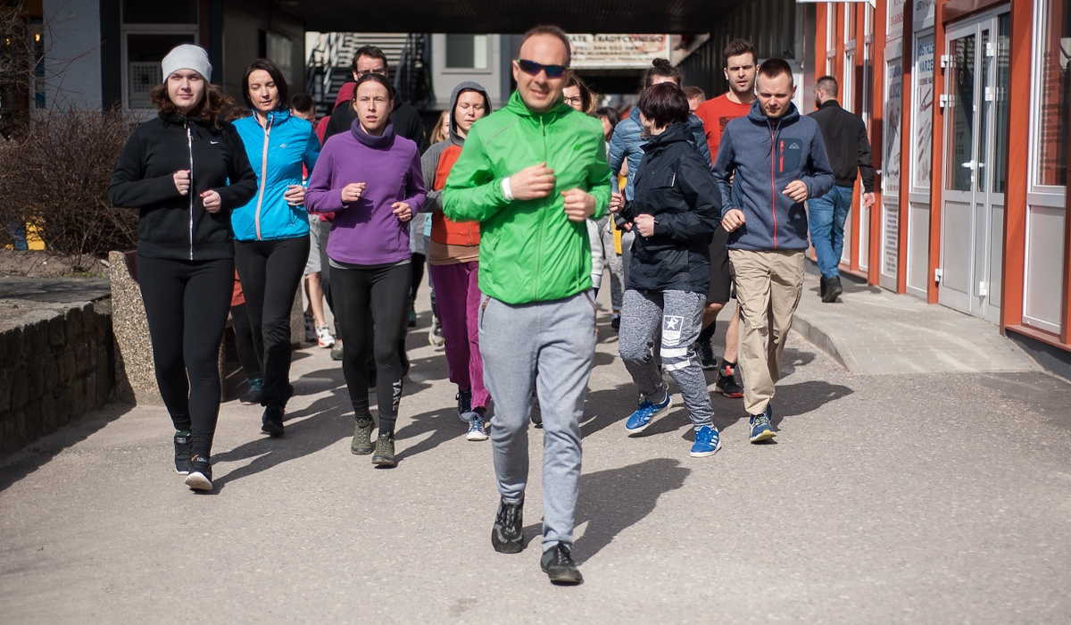 Slow jogging. Fot. Monika Giejło