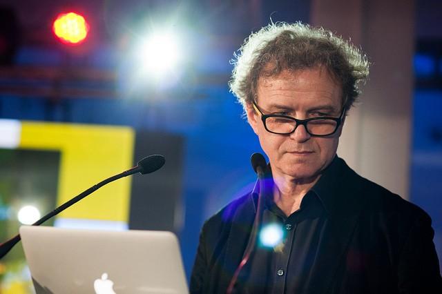 Prof. Ryszard Kluszczyński, źródło: flickr, fot. Katarzyna Piądłowska, mat. NInA (CC BY-SA 2.0)