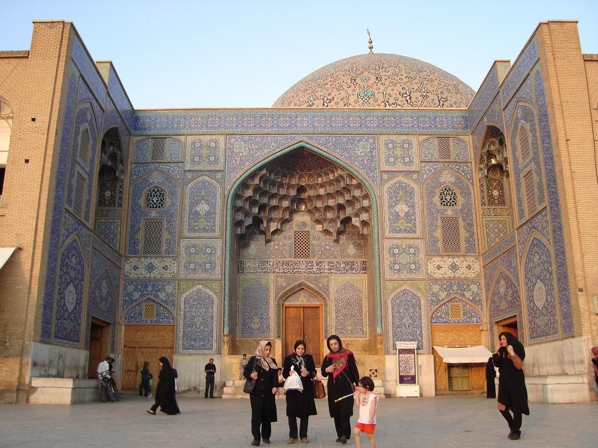 Meczet Szejka Lotfollaha przy Placu Imama w Isfahanie