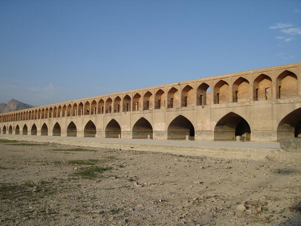 Most Si-o-se-pol w Isfahanie. Fot. D. Juraszek