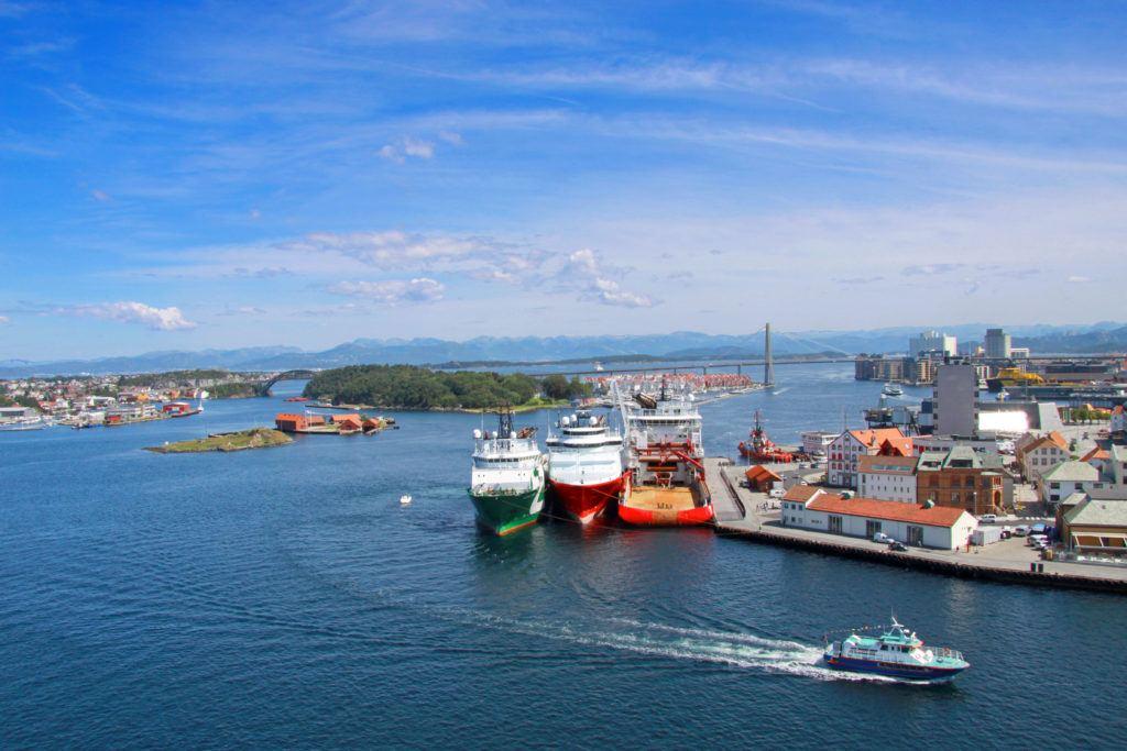Port w Stavanger