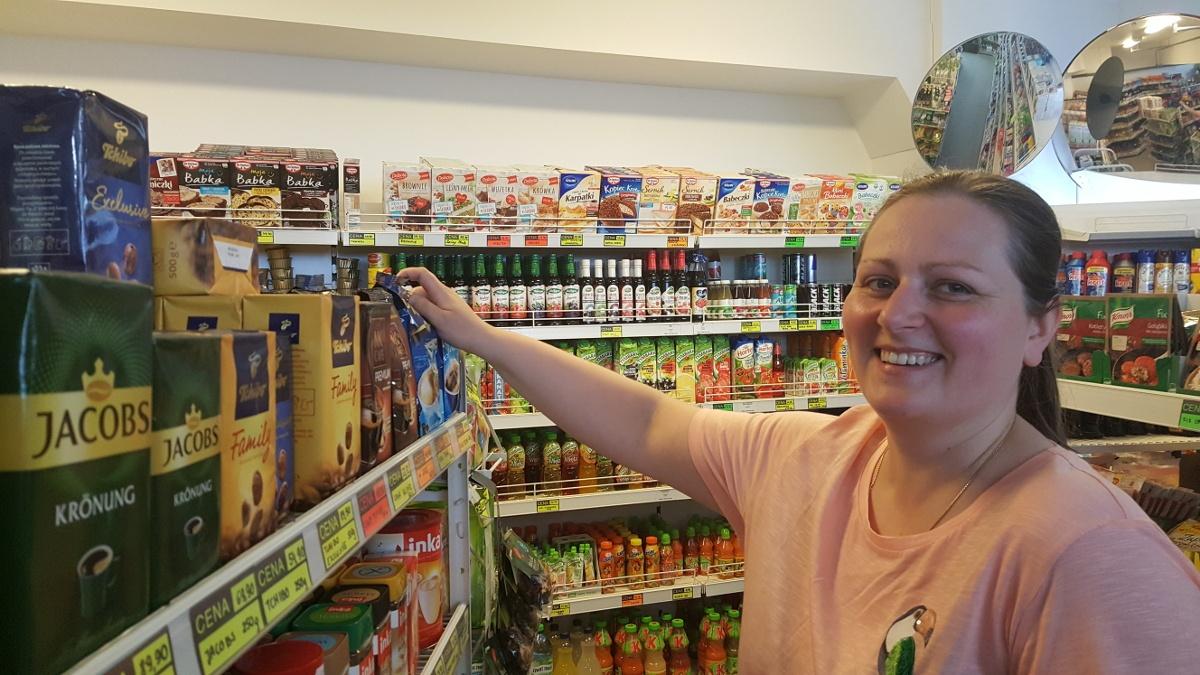 Dominika z polskiego sklepu w Stavanger
