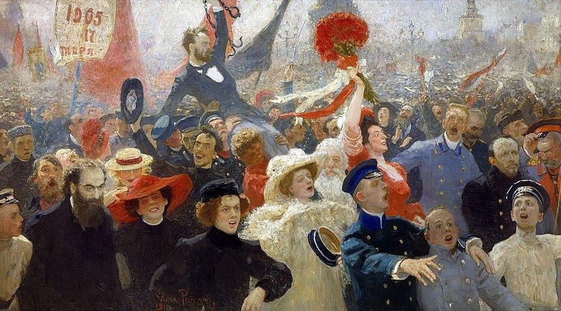 Rewolucja 1905 - Liberté!
