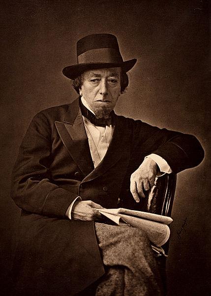 http://en.wikipedia.org/wiki/File:Benjamin_Disraeli_by_Cornelius_Jabez_Hughes,_1878.jpg