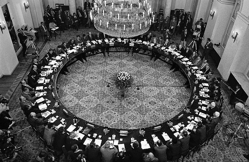 Okrągły Stół, wikicommons