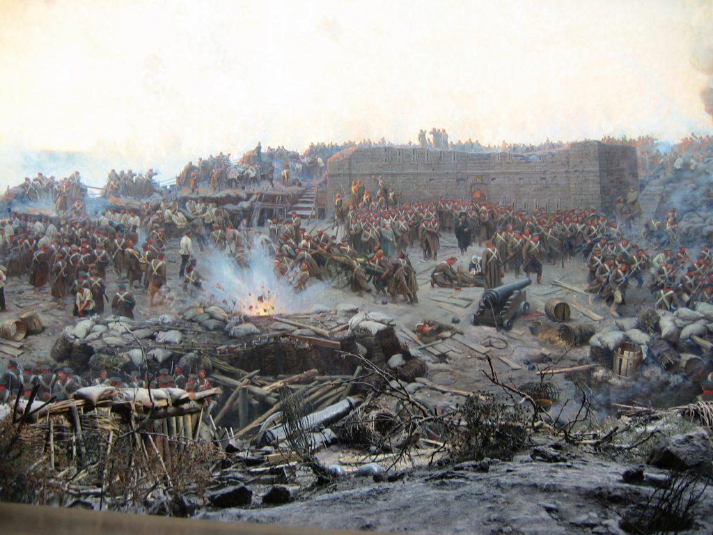 Oblężenie Sewastopola, Franz Roubaud (1904)
