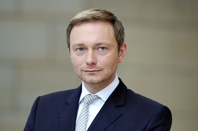 Christian Lindner. Fot. Martin Rulsch, Wikimedia Commons, CC-by-sa 4.0